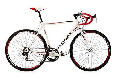 KS Cycling Fahrrad Rennrad Alu Euphoria RH 53 cm, Weiß, 28, 332B