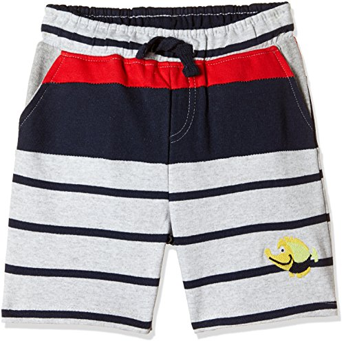 Donuts Baby Boys' Shorts (271309165_GREY-MEL_18M_OS-10.5)