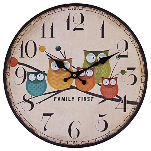childs-cute-wall-clock-12-inch-eruner-painted-owls-animated-cartoon-wood-clock-kids-bedroom-nursery-
