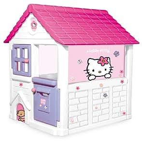 Smoby - 310431 - Jeu de Plein Air - Maison Sweet Home - Hello Kitty