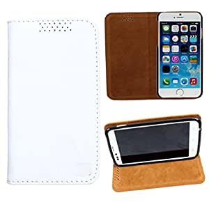 DooDa Genuine Leather Flip Case Cover For Lava Xolo Q3000