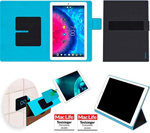 reboon Hülle für Archos Core 101 3G Tasche Cover Case Bumper | in Schwarz | Testsieger 101 Tasche