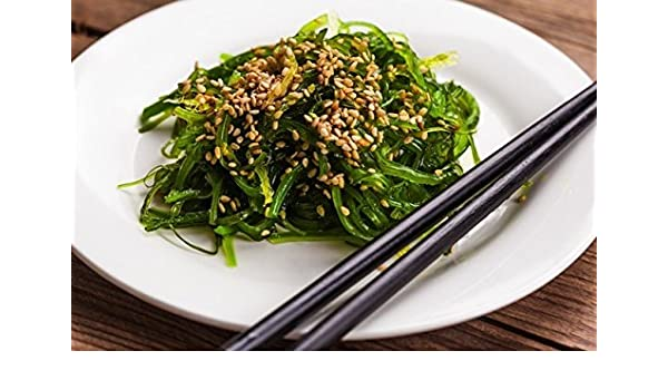 Goma Wakame Salat Wakame Seealgen Salat Gesund Und Lecker 1 Kg