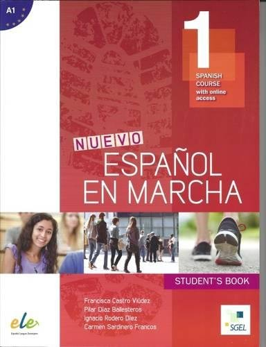 Nuevo Espanol en Marcha 1: Student Book for English Speakers: Spanish Course with Free Online Access
