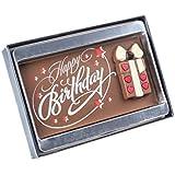 Schokoladen Geschenktafel Happy Birthday Geschenk 75g
