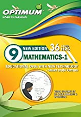 Optimum Educator Educational DVD's Std 9 MH Board Mathematics Part 1-Digital Guide Perfect Gift for School Students – Easy Video Learning- Fun with Maths