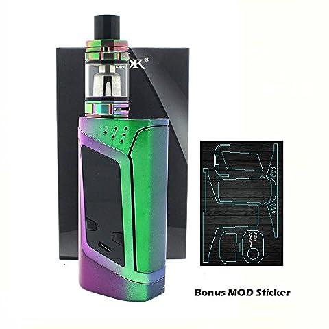 Authentique SMOK ALIEN (Couleur Complète) 220W avec TFV8 BABY Atomiseur et Autocollant MOD bonite Sans Tabac Ni Nicotine Cigarette Electronique