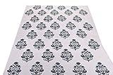 #9: Trade Star Indian Handmade Block Print Cotton Upholestry Fabric by Meters Sanganeri Fabric