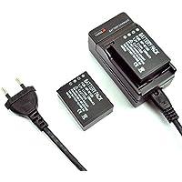 mondpalast@ 2X Reemplazo batería Li-ion type NP-W126 NPW126 1260mah x 2 + cargador para Fujifilm XE-2 X-T1 XT1 X-E1 X-M1 X-Pro1 HS30 HS30EXR HS33EXR