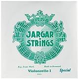 Cordes Jargar Violoncelle Jeu Argent; Forte