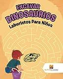 Excavar Dinosaurios: Laberintos Para Niños
