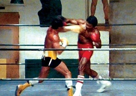 Rocky Vs Apollo Rocky 3 MOVIE Poster, A2