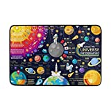 Nifdhkw Universe Space Big Bang Theory Sun Earth Planets Doormats Floo..