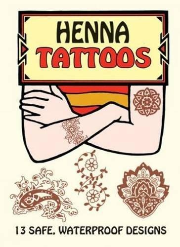 Henna Tattoos (Dover Tattoos) por Anna Pomaska