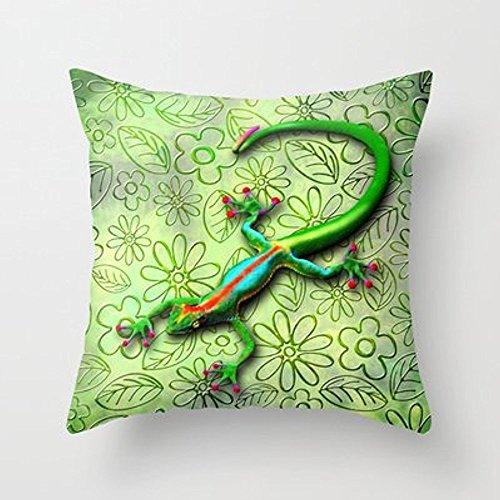 My Honey Kissen Gecko Lizard Rainbow Farben Überwurf Kissen von bluedarkartfor Ihr Zuhause
