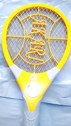 Excellent Quality Electric Rechargeable Mosquito Insect Killer Racket Bat With Bright LED Light