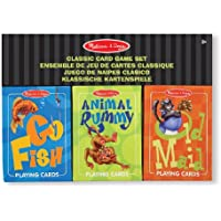 Melissa & Doug - 14370 - Set di Carte da Gioco Classico - Go Go Animali Set