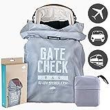 Kinderwagen Transporttasche - Kinderbuggy Tasche und Reisetasche ideal für den Gate Check in beim Fliegen - einfacher Buggy Transport & leicht zu identifizieren am Flughafen Gepäckband
