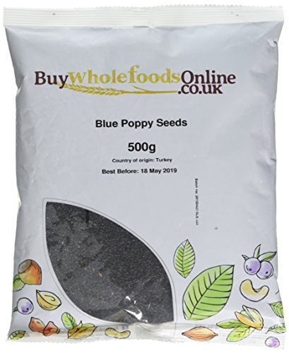 Buy Whole Foods Poppy Seeds Blue 500 g Test