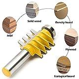 SROL Reversible Finger Joint Kleber Router Bit Schienen Einsteckschloss Vorlage Holzschneider Holzbearbeitung Fräser Werkzeug für Holz