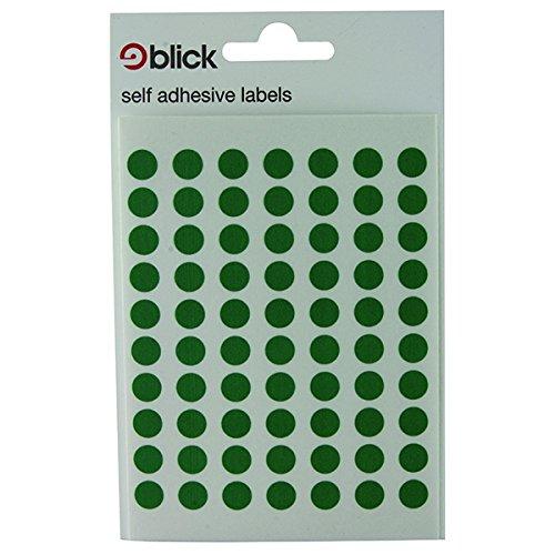 BLICK LABEL BAG 8MM GRN PK490 002659
