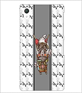 PrintDhaba Funny Image D-3807 Back Case Cover for SONY XPERIA Z2 (Multi-Coloured)