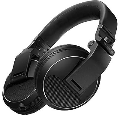 Pioneer DJ HDJ-X5-K Professional DJ Headphone, BLACK