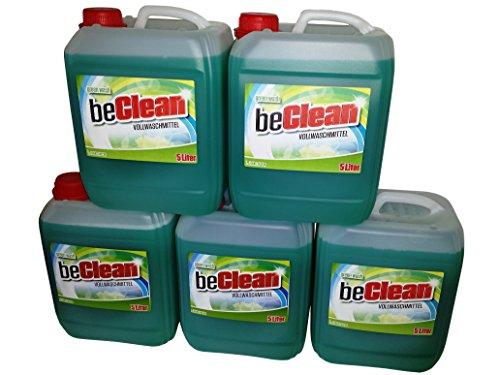 Flüssigwaschmittel beclean green wash 5x5 Liter Kanister