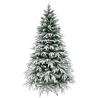 SHATCHI Árbol de Navidad, Color Blanco, 4 pies