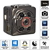 SHOPINNOV Mini Camera HD 1080P Vision nocturne Detection de mouvement 16Go