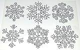 CB084CL - strass borte strassband dekoband Kristalle Strasssteine 6 selbstklebend Universal AUTO TUNING Halterloser Klebe Herren Unterhose FROZEN Gems Ohrhänger Schneeflockendesign
