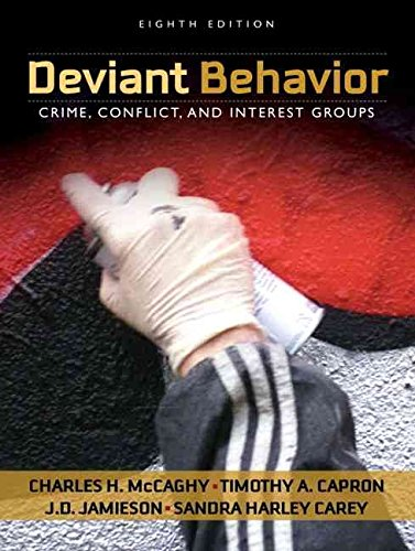 the deviant behaviors in the crime incidents and the cases of psychotic behavior Deviance describes behaviors which infringe than the extent of crime itself the way police record incidents crime and deviance is important.