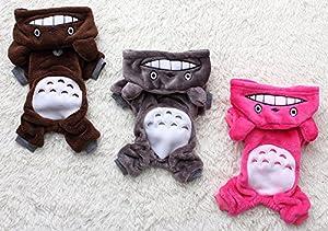 Bigood Sweats à Capuche Chien Coton Veste Epais Hiver Animaux Domestiques