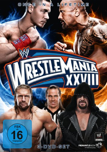 WWE - Wrestlemania XXVIII [3 DVDs] - Wwe-wrestlemania