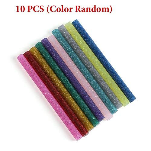 ed651fc37 Bullet Gun - Multicolor Glitter Melt 7mm Adhesive Sticks Phone Case Alloy  Toy Art Model Album