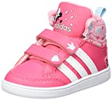 adidas Unisex Baby Hoops CMF Mid Sneaker, Mehrfarbig (Supros/Ftwbla/Rossua), 27 EU
