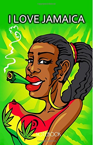 ook: Jamaican Journal Featuring Rasta Woman Smoking A Joint 100 Lined Pages (Smoking Rasta)
