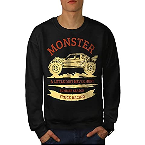 Monstre Courses Voiture Des Homme M Sweat-shirt | Wellcoda