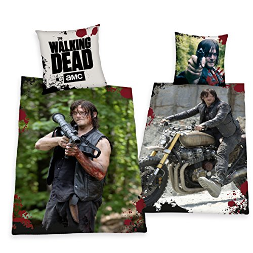 Herding, the Walking Dead Daryl modello speciale, copripiumino 135 x 200 cm regalo nuovo WOW - All-in-One outlet-24 -
