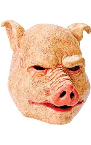 Rubie s BM370–Maske Schwein Latex, ()