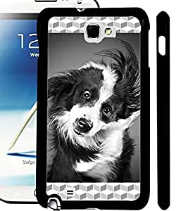 ColourCraft Cute Dog Design Back Case Cover for SAMSUNG GALAXY NOTE 2 N7100