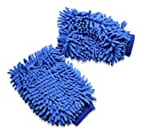 Microfiber Glove Mitt For Car Cleaning W...