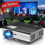 Beamer LCD Video Projektor HD LED 3500 Lumen Heinkino HDMI VGA USB Audio unterstützt 1080p 720p für Smartphone PC Laptop iPad DVD PS4