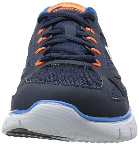Skechers Skech-FlexLife Force Herren Sneakers Blau (Nvbl)