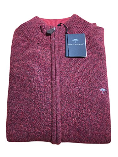 FYNCH-HATTON - Gilet - Manches Longues - Homme pinotage 364