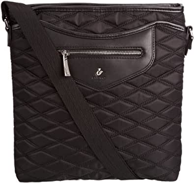 Knomo Womens Cross-Body Bag 18-600-BLB Black/Black