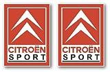 Citroen Sport Pegatinas 120x 88mm DS3Saxo C2C4VTS GT adhesivos by ONEKOOL