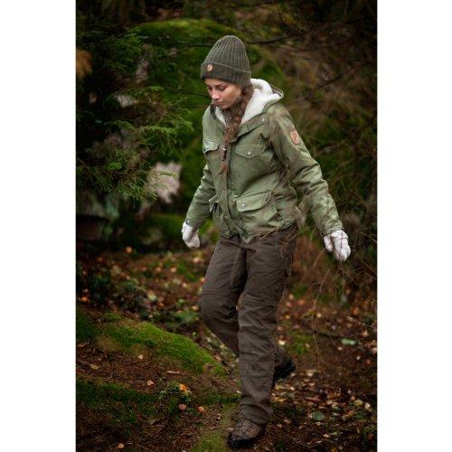 Fjällräven greenland veste d'hiver pour femme Noir