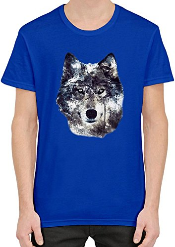 wolf-illustration-manner-t-shirt-x-large