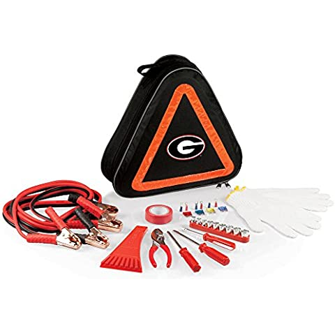 NCAA Georgia Bulldogs Roadside Emergency Kit
